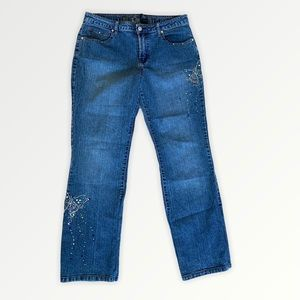 Arizona jeans with butterfly jewel Decal